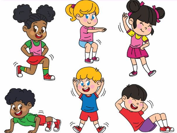 gym clipart for kids 2